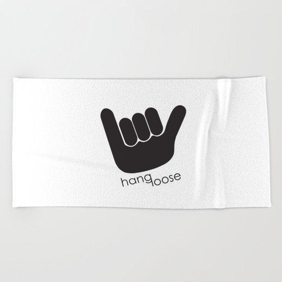 Hang Loose Beach Towel