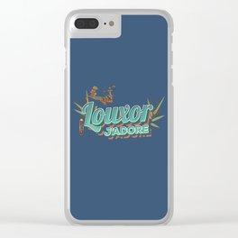 LOUXOR J'ADORE ! Clear iPhone Case