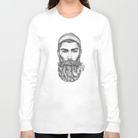 sailor Long Sleeve T-shirts featuring Sailor by Thea Nordal