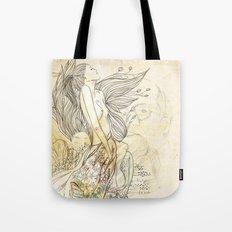 sonho dourado Tote Bag