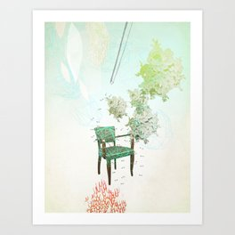 Esperando Art Print