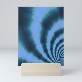 Ripple effect time travel Mini Art Print