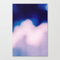 BLUR / clouds Canvas Print