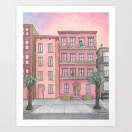 Summer Dreaming Art Print