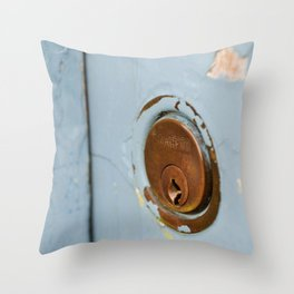 missing key Throw Pillow