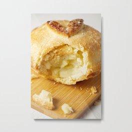 Fresh baked mini home made apple pie Metal Print