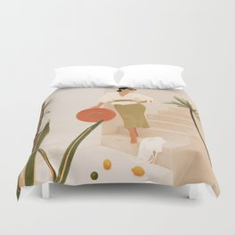 Wonders of the New Day Duvet Cover