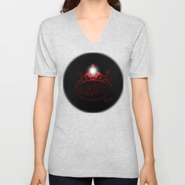 The Light Is Hungry Unisex V-Neck