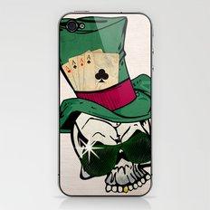 Poker Face iPhone & iPod Skin