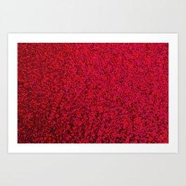 RED SEQUNS. Art Print