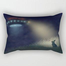 Caught in the Headlights Rectangular Pillow