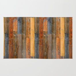 Jumbled Planks Rug