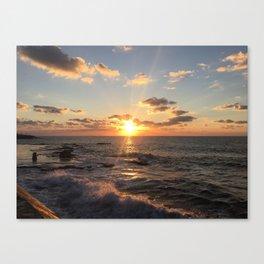 Mediterranean Sunset (Joppa) Canvas Print