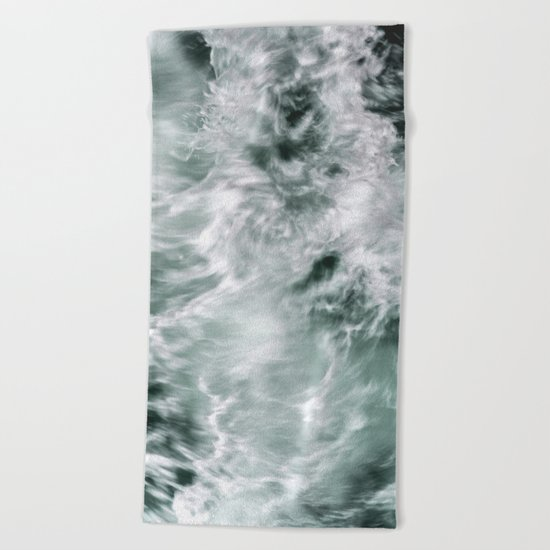 Silky Waves Beach Towel