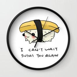 Sushi You Wall Clock
