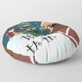 Whoa Ho Ho Floor Pillow