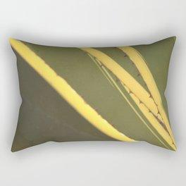 Agave cactus succulent leaves pattern Rectangular Pillow