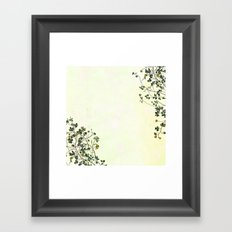 This is how a garden grows Framed Art Print