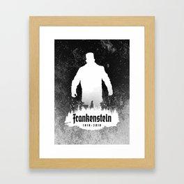 Frankenstein 1818-2018 - 200th Anniversary INV Framed Art Print