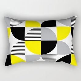 Colorful geometry 9 Rectangular Pillow