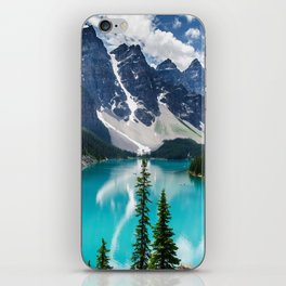 Lake Moraine Banff iPhone Skin