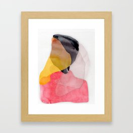 Balance in Shape and Color Framed Art Print