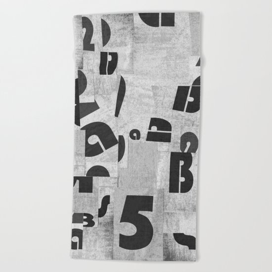 Abstract pattern 51 Beach Towel