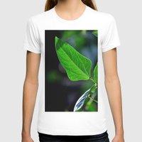 leaf T-shirts featuring leaf by  Agostino Lo Coco