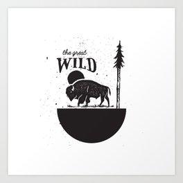 The Great Wild Art Print