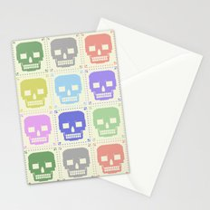 quilt of grrr (born to die). Stationery Cards