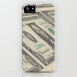 Money 1 Dollar iPhone Case