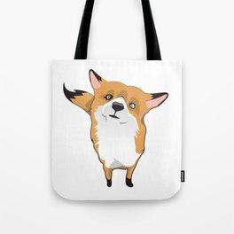 Cuty Fox Tote Bag