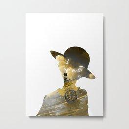 Pirate Boat Metal Print
