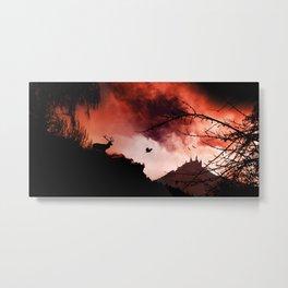Dramatic cloudy scenery Metal Print