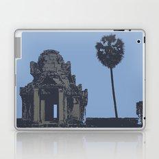 Crypt at Angkor Wat with Palm Tree Laptop & iPad Skin