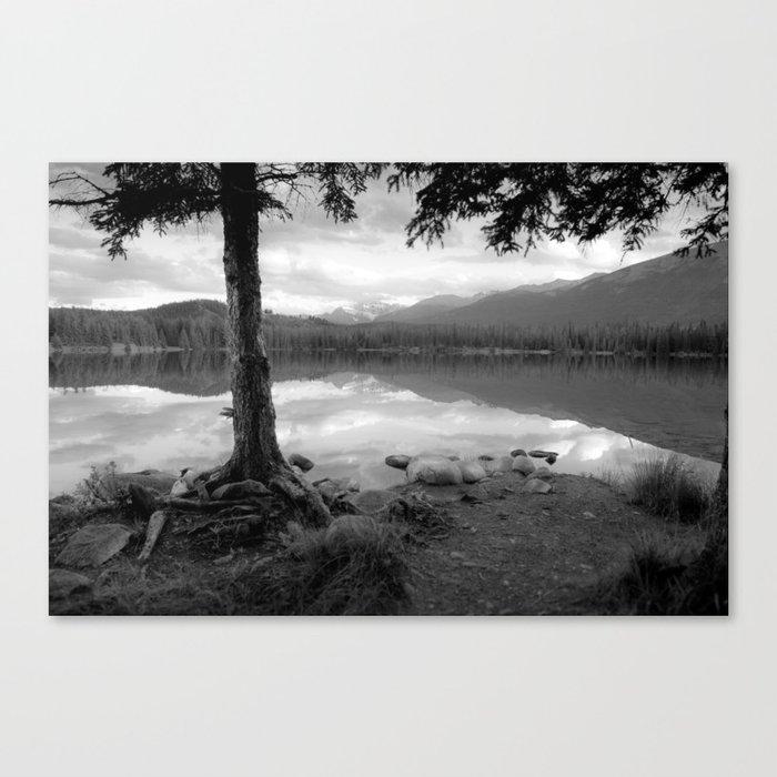 Beauvert Lake - Jasper, Alberta Canvas Print