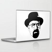 heisenberg Laptop & iPad Skins featuring Heisenberg by Renan Lacerda