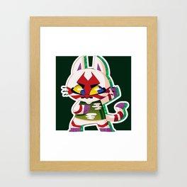 Kabuki. Framed Art Print
