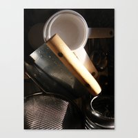 baking Canvas Prints featuring Baking by SEB Market BK