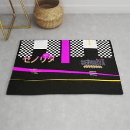 Graphic Over Tee ONLY Retro Japanese Rug