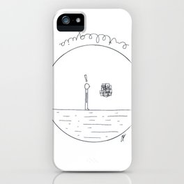 Just a simple thing iPhone Case