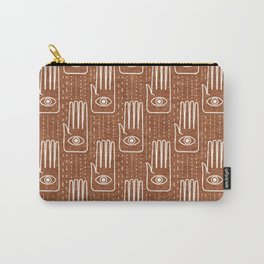 adorned palm - ginger Carry-All Pouch