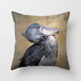 The Whalehead Stork Throw Pillow