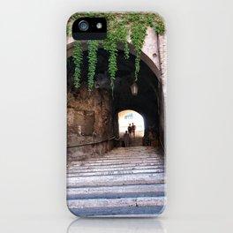 Escalinata iPhone Case