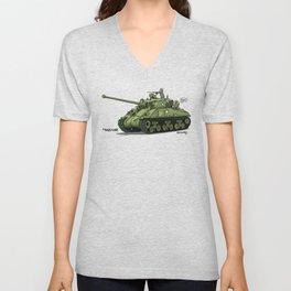 Dogs of War: Sherman Tank Unisex V-Neck