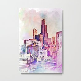 My Kind of Town Metal Print