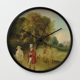 Turner and Walter Fawkes at Farnley Hall J. M. W. Turner Wall Clock