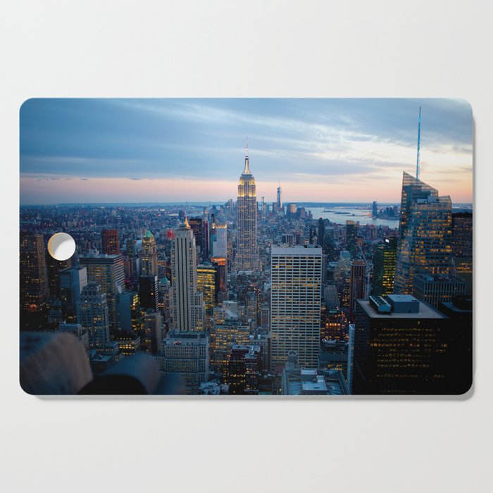 New York City Dusk Cutting Board