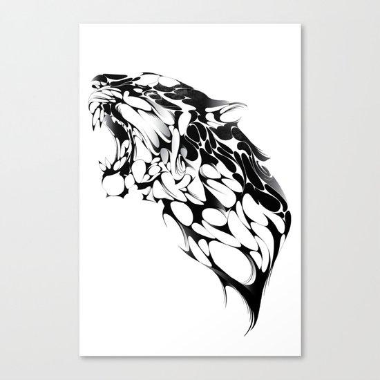 Tiger Growl Canvas Print