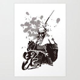 KENSHIN UESUGI Art Print